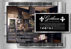 Gotham Dream Builders Gotham Homes Designer Kitchens Designer Homes Houzz Rated 2013 2014 NYC Long Island Premier General Contractor @GothamHomes @mitchelahdoot @pstratigos @pstratigosmedia @exquisitenewyork