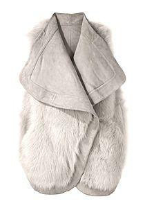 heiress, white, fur