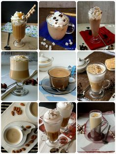 przepisy na kawe Eat Me Drink Me, Food And Drink, Coffee Dessert, Polish Recipes, Coffee Cafe, Frappe, Mochi, Smoothies, Panna Cotta