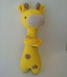 Giraffe by pichita_linda. Crochet pattern by Little Bear Crochets: www.littlebearcrochets.com ❤️ #littlebearcrochets #amigurumi