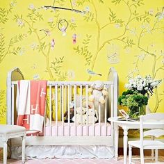 Happy sunny and oh so elegant! Stunning styling in the nursery of @kathryneisman over in the US of A Photography: @bethanynauert . . . . . . . #nursery #nurseryinspo #nurserystyling #hermes #nurseryinspiration