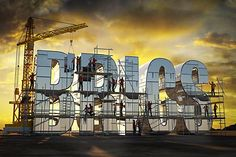 Construction workers building letters that spell 'BRICS' - Royalty Free Images, Photos and Stock Photography Gross Domestic Product, Brics, Construction Worker, Image Photography, Royalty Free Images, Spelling, New York Skyline, Stock Photos, Country