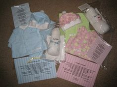 preemie sewing