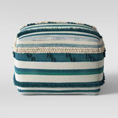 Lory Pouf Textured - Opalhouse™ : Target Nursery Furniture, Furniture Decor, Living Room Furniture, Square Ottoman, Living Room Update, Pouf Ottoman, Create Space, Eclectic Style, How To Make Beads