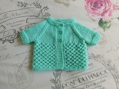 Ravelry: marianna-mel's Danika Baby Jacket - Short Sleeves