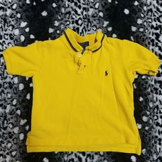 815ab46b3 Dm with any questions This is a kids size 5 Ralph Lauren yellow Polo 8n  excellent. Depop