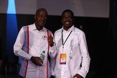 Pasteur Yvan Castanou et Pasteur Christian Saboukoulou du campus ICC Bruxuelles lors d'Impact Conférence 2016 Pasteur, Ministry, Coat, Worship, Warriors, Fashion, Sons, Moda, Sewing Coat