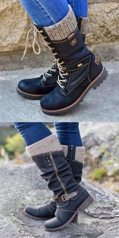 New Fashion Shoes During Autumn&Winter Buy It Now ! New Fashion, Fashion Shoes, Autumn Fashion, Fashion Accessories, Fashion Outfits, Lace Up Combat Boots, Knee Boots, Rain Boots, Maxi Skirt Outfits