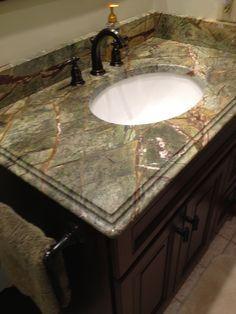 New Kitchen countertops on Pinterest | Rainforests, Granite and ...