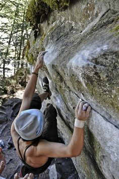 Passions = Bouldering