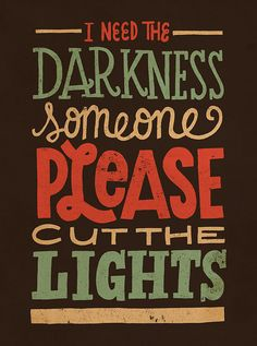 Cut The Lights by Jay Roeder, via Flickr