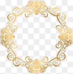 Euclides dourado de amor. Circle Borders, Borders And Frames, Page Borders Design, Border Design, Photoshop Elementos, Teacher Wallpaper, Monogram Frame, Wedding Frames, Steampunk Clothing