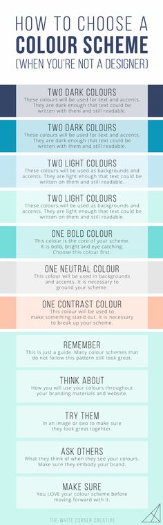 How Did you Create your Colour Scheme? #Infographics
