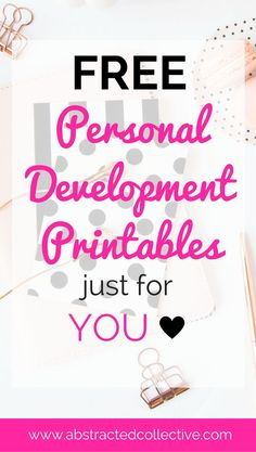 My one-stop shop where you can find all my free personal development printables cheatsheets, tipsheets, ebooks and many more. All free to download!