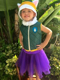This Everest Paw Patrol Costume is custom made. The Set include the adorable 2…