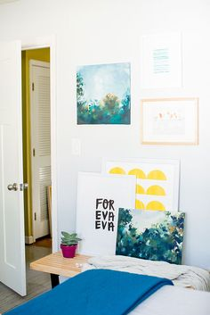 How To: Make Large-Scale Artwork on a Modest Budget of $10 or Less