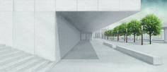 Bahnhof - Kongresszentrum Locarno | Technische Universität Wien | Amelie Barth