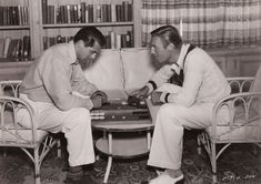Cary Grant and Randolph Scott : A Gay Hollywood Romance / HomoHistory Golden Age Of Hollywood, Classic Hollywood, Old Hollywood, Cary Grant Randolph Scott, Gary Grant, Orry Kelly, To Catch A Thief, Nostalgia, Errol Flynn