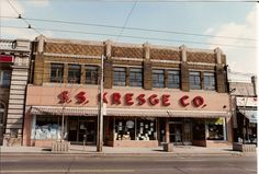 S.S. Kresge stores ~ always loved that store