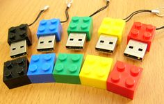 USB inspired by Lego