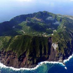 Aogashima. O paraíso em um vulcão