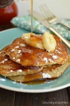 Banana Pancakes! Little Dairy on the Prairie