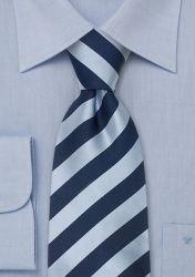 Blaue Krawatte gestreift günstig kaufen