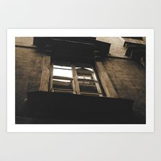 blind reflection Art Print by Nazar Vasko - $17.68