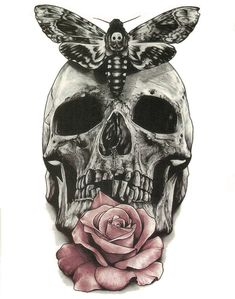 Skeleton rose butterfly tattoo Temporary Tattoo Stickers Flash tattoos sex Men and women general arm Body Art Exotic Makeup Large Temporary Tattoos, Large Tattoos, Black Tattoos, Wolf Tattoos, Body Art Tattoos, Tattoos Pics, Skull Tattoos, Tinta Tattoo, Tattoos For Guys