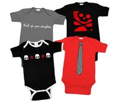 My Baby Rocks: Punk, Gothic, Rock and Funky Baby, Toddler & Kids Clothes. Hello, baby shower gifts!