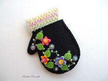 black mitten pin