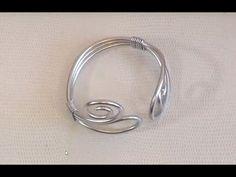 ► [ TUTO ] Fil d'Aluminium Réalisation d'un Bracelet en Fil Aluminium Ar...