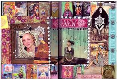 many cool journal pages by anahata katkin (go see them all)