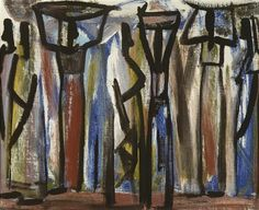 View Porteuses congolaises by Floris Jespers on artnet. Browse upcoming and past auction lots by Floris Jespers. Congo, African Art, Belgium, Past, Auction, Paintings, Artist, Past Tense, Paint