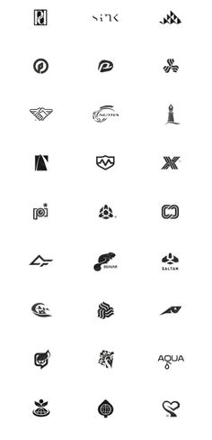 #Symbol & #Logo #Design Archive '94-'08 by Gert van Duinen, via #Behance