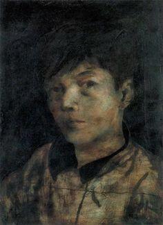 Matsumoto Shunsuke · Self Portrait · 1941 · Museum of Modern Art Kamakura & Hayama