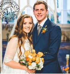 Lissa Chandler/TLC Joy-Anna Duggar and Austin Forsyth are married! The Wedding was on May Joy Anna Duggar Wedding, Jinger Duggar Wedding, Celebrity Couples, Celebrity Weddings, Duggar Girls, Duggar Sisters, Duggar Family Blog, Dream Wedding, Wedding Day