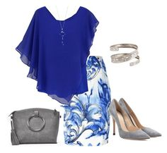 """""""Untitled #8"""" by ritecz-gabriella on Polyvore featuring Versace, Gianvito Rossi, Nasty Gal and Tiffany & Co."""