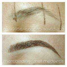 #MICROBLADING #MellMedeiros  Transformando seu olhar...
