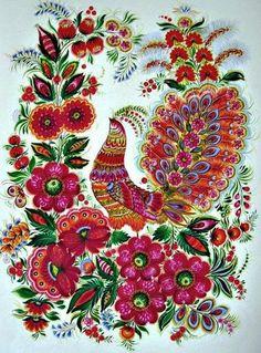 Radosna farba Petrikov malowanie. Dyskusja na temat liveinternet - Rosyjski serwis internetowy Diaries