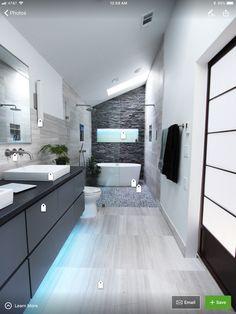 Corner Bathtub, Alcove, Townhouse, Bathrooms, Home, Toilets, Terraced House, Bathroom, House