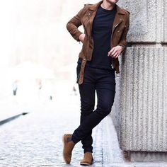 129 sublime urban fashion streetwear outfit ideas – page 23 Stylish Mens Outfits, Hipster Outfits, Boho Outfits, Casual Outfits, Chelsea Boots Outfit, Streetwear Mode, Streetwear Fashion, Cool Jackets For Men, Moda Blog