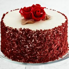 Red Velvet Cake holidays weddings parties Pinterest