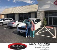 Congratulations Gayle on your #Kia #Sedona from Kyle Kirkpatrick at Van Griffith Kia!  https://deliverymaxx.com/DealerReviews.aspx?DealerCode=PXVJ  #VanGriffithKia