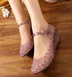 3ddff392c3 641 Best Jelly Shoes Crystal images in 2018 | Crystal shoes, Mules ...