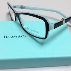New for 2013 - Tiffany & Co. Eyeglasses and Sunglasses. This is TF 2061 color 8055 top black blue