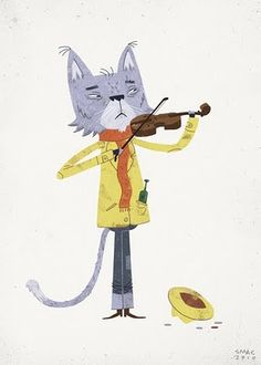 Cat and the Fiddle by Scott MacDonald : )