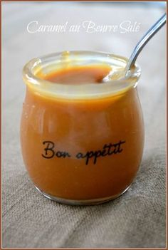Caramel beurre salé de Sabrina (le meilleur pâtissier) hummmm !!!!