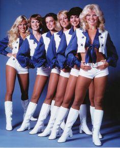 See the Dallas Cowboys Cheerleader Uniform Through the Years!