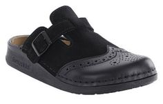 Footprints Handstitched Clogs ''Piccadilly'' from Leather in Black 38.0 EU N FOOTPRINTS. $101.14. leather
